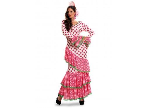 Disfraz de sevillana flamenca para mujer