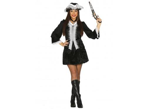 Disfraz de corsaria oscura para mujer
