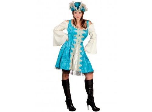 Disfraz de corsaria de los mares deluxe para mujer