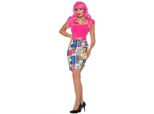 Falda pop art para mujer