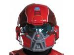 Disfraz de Red Spartan classic para hombre