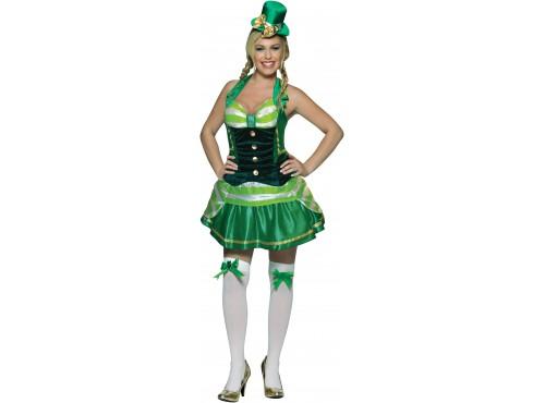 Disfraz de Saint Patrick's Day para mujer