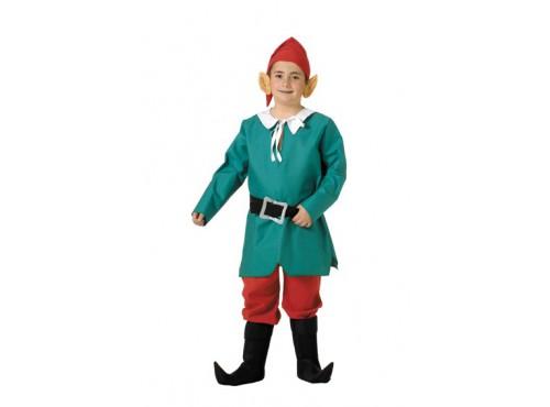Disfraz de elfo para niño