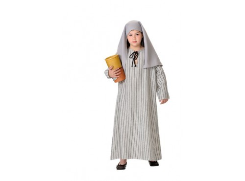 Disfraz de samaritana para niña