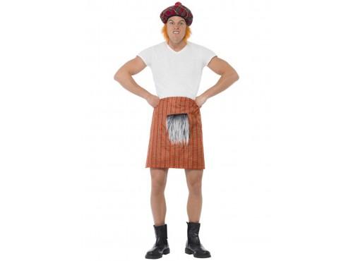 Kit falda escocesa