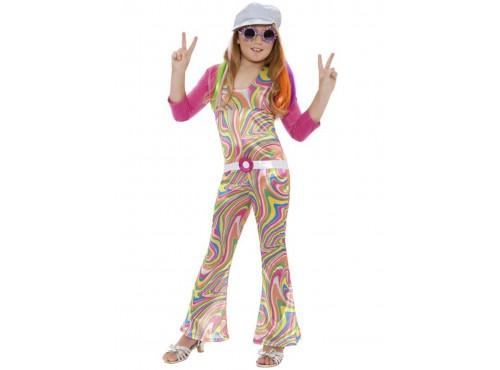 Disfraz de discotequera para niña