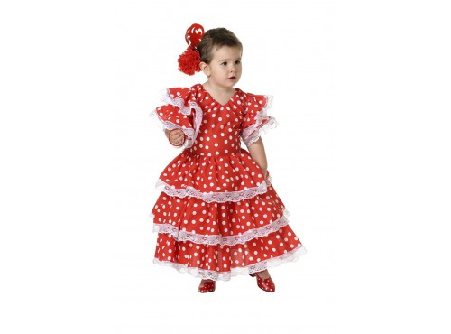 Disfraz de andaluza bebé