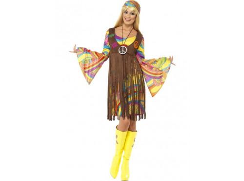 Disfraz de chica estupenda de los años 60