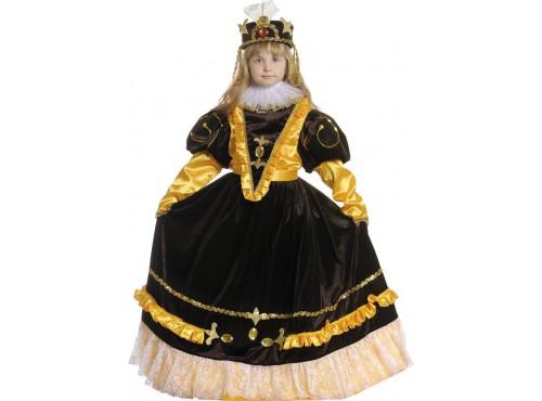 Disfraz de emperatriz para niña