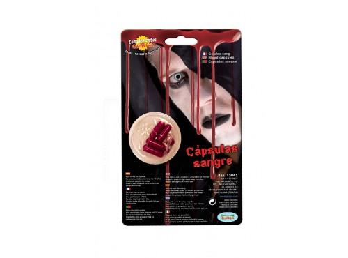 Sangre en cápsulas Halloween