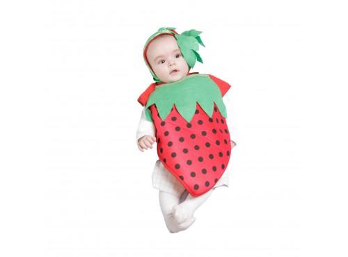 Disfraz de bebé fresita