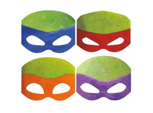 Set de máscaras de las Tortugas Ninja