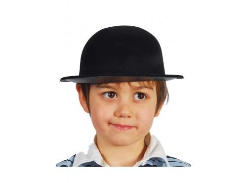 Sombrero bombín negro infantil